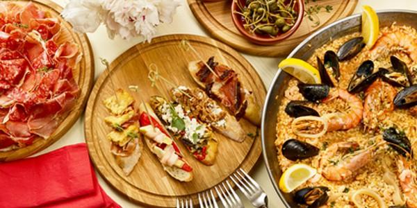 Španělské jídlo